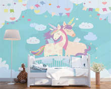 beibehang Customized modern fashion stereo silky 3d wallpaper Nordic minimalist panda childrens house wall papers home decor
