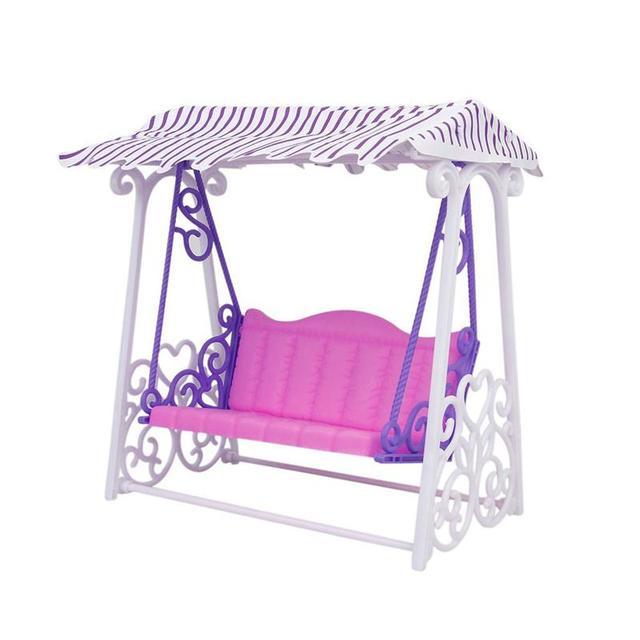 Niña Regalo de Cumpleaños casa Muebles jardín swing set plástico ...