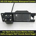For Opel Astra H J Corsa Meriva Vectra Zafira Insignia FIAT Grande Buick Regal Car CCD Night Vision 4LED Backup Rear View Camera