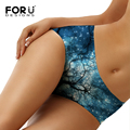 FORUDESIGNS Women's Modal Waist Briefs Plus Size Waist Panties Ladies Underwear Butt Enhancer Calcinhas Braga Underware For Girl