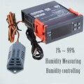 220 V Digital Air Umidade Controle Controlador SVWL 8040 Gama 1% ~ 99% Controle De Umidita Di Controllo Higrômetro Umidade metro
