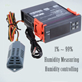 220V Digital Air Humidity Controller Control SVWL 8040 Range 1%~99% Control De Umidita Di Controllo Hygrometer Humidity Meter