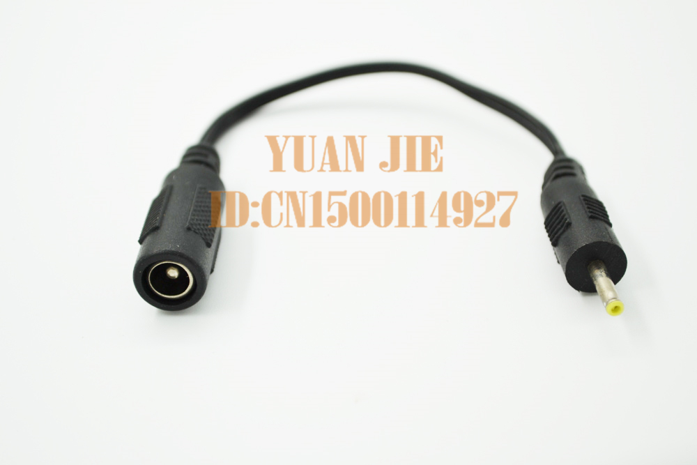 Free shipping For DC conversion cable 5.5 * 2.1 <font><b>connector</b></font> turn <font><b>2.5</b></font> * <font><b>0.7</b></font> <font><b>connector</b></font> adapter cable image