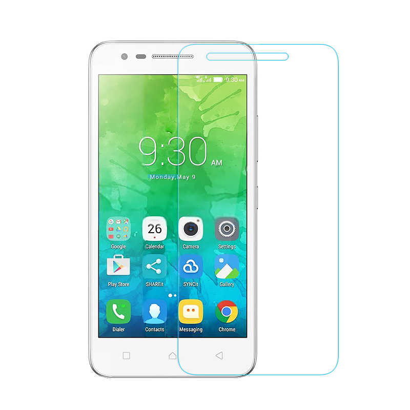 Tempered Glass untuk Lenovo A6600 K5 A6010 Plus Vibe X2 C2 Zuk Z2 Pro P2 P1 P1M K6 Power K5 k4 Catatan S1 S60 S90 A536 A1010a20 Case