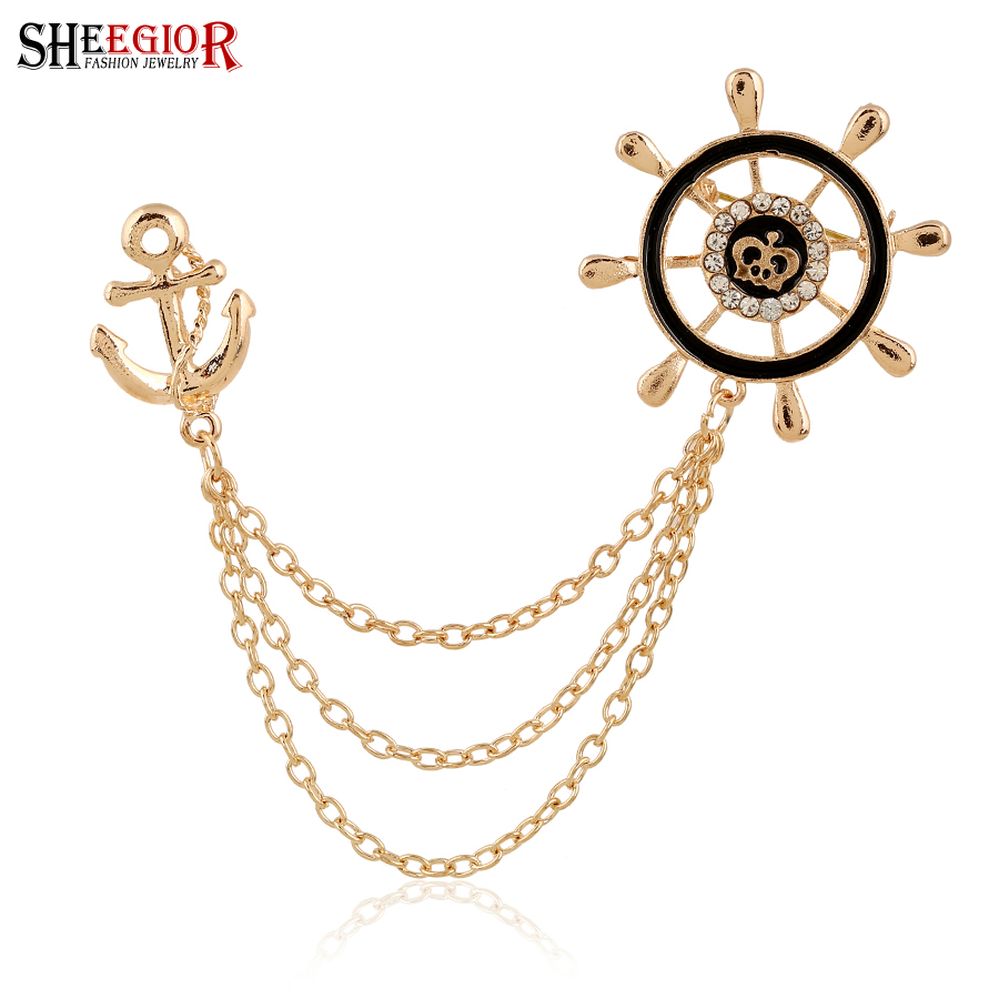 top 10 most popular chain collar pin brooch pin brands and get free