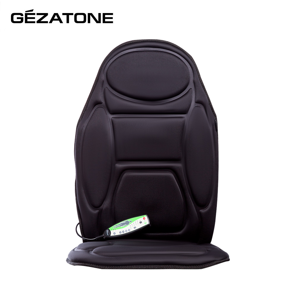Massage Tools Gezatone 1301098  back neck massager relieve muscle spasm сape on the car seat massager for back
