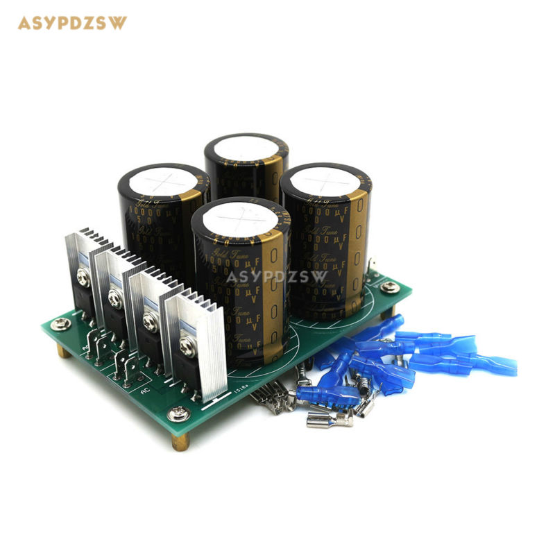 HPO Audio amplifier power supply board 30A KG Type I 10000uF 50V X4 Diode Rectifier Filter