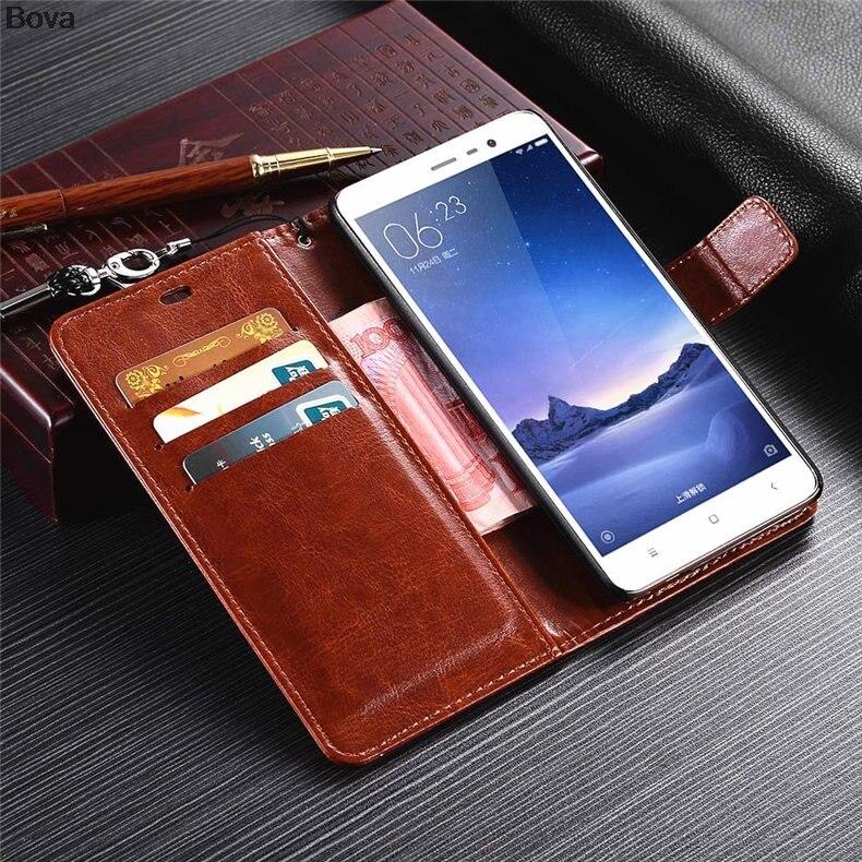 Redmi Note 3 korthållare täckväska för Xiaomi Redmi Note 3 Pro Pu - Reservdelar och tillbehör för mobiltelefoner - Foto 3