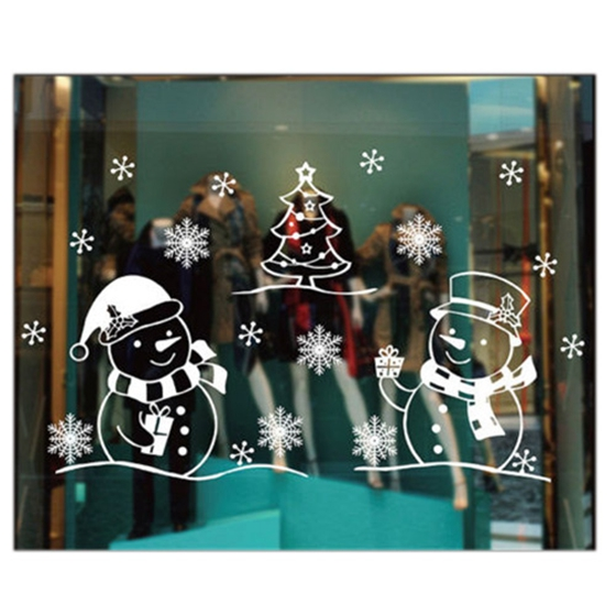 Christmas Wall Sticker Christmas Decorations For Home Christmas Window Sticker,13TYPE home for christmas