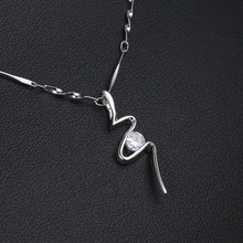 2019 Fashion High Quality Simple Choker butterfly  Necklaces For Women Silver Clavicle Statement Short Gift
