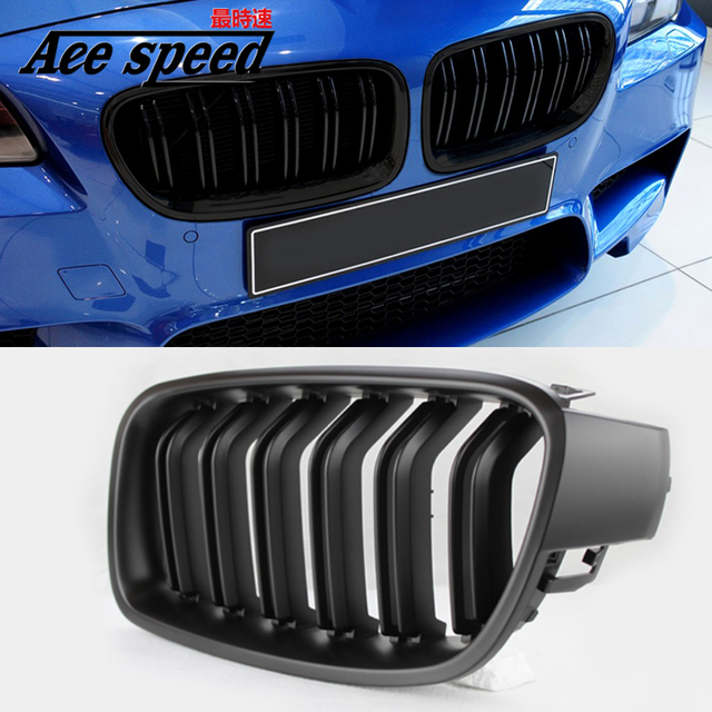 Us 47 41 For Bmw 3 Series Abs 2 Slat Front Grille For Bmw 3 Series F30 F31 320d 318i 330d 330i 340i 335i 328d 2012 2017 In Racing Grills From