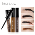 Brainbow New Tattoo Eyebrow Gel Super Lasting for 72h Waterproof Sweat Professional 3D Peel Off Natural Eyebrow Tint Dye Makeup