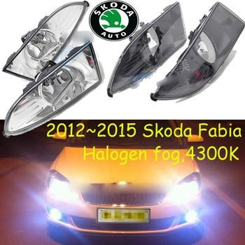 2007/2012~2015 Fabia fog light,Free ship!halogen,4300k;octavia,superb,rapid,yeti;Fabia headlight,Fabia day lamp