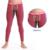 Nuevo Seobean hombres de calzoncillos largos separados legging delgada moda de ropa interior térmica ropa Long johns 4 colores