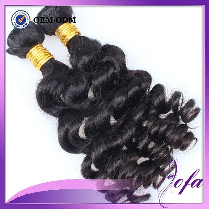 Tressence Virgin Hair Market Brazilian Body Wave Black Big Curly