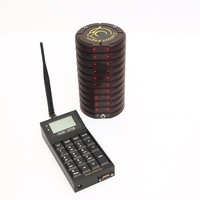 Free Shipping w-11tk coaster pager for restaurant,alpha paging system,queue system,paging system ,poscage paging system