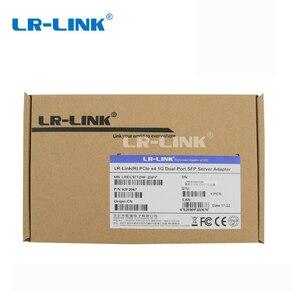 Image 5 - LR LINK 9712HF 2SFP Çift Bağlantı Noktalı PCI Express Ağ Kartı Gigabit Ethernet Fiber Optik Lan Kartı ağ Adaptörü Intel I350 NIC