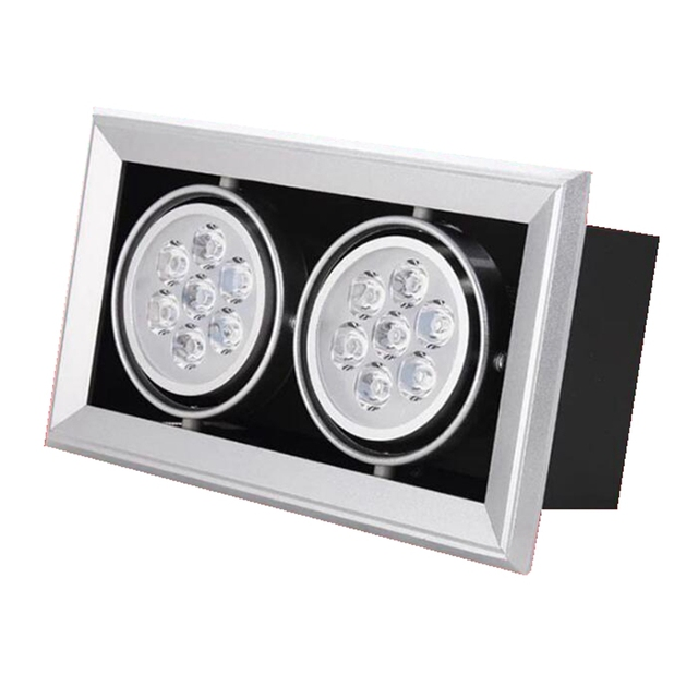 led recessed ceiling lights. square led spot light 3w 5w 7w 9w 12w recessed ceiling lamp single/ led lights