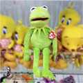 """Venta caliente 16 """"40 cm Kermit Peluches Sesame Street ranas Regalo para las Fiestas Muñeca Muñeco de Peluche de Juguete de Peluche Rana Kermit"""