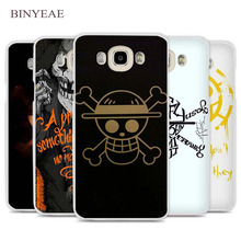 BINYEAE One Piece Pirates wars Cell Phone Case Cover for Samsung Galaxy J1 J2 J3 J5 J7 C5 C7 C9 E5 E7 2016 2017 Prime