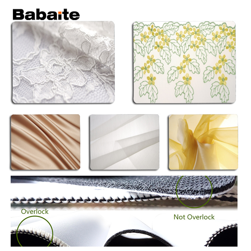 Babaite Your Own Mats Cloth Large Mouse pad PC Computer mat Size for 18x22cm 25x29cm Rubber Mousemats