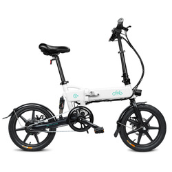 16 Cal FIIDO D2 składany rower elektryczny 100 - 240V 250W 7.8Ah akumulator litowo-jonowy 25 km/h rower elektryczny Max 15 stopni Gradient
