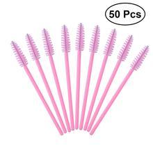 50pcs Disposable Eyelash Brush Mascara Wands Eye Lashes Extension Makeup brushes Individual Applicator Kit