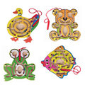 1 pc Magnetic Maze Kids Wooden Animal Puzzle Early Educational Learning Toys Intellectual Game for Children