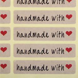 Самоклеящиеся Стикеры-этикетки шт./лот упаковка 200 подарок печенье украшения Этикетка ручной работы с буквой прекрасный красное сердце