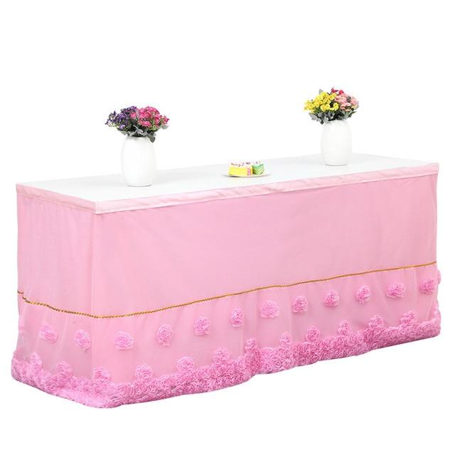 best selling elegant wedding table skirting baby shower birthday