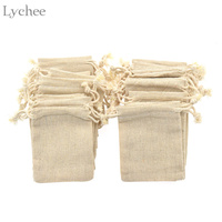 30pcs Vintage Natural Burlap Gift Candy Bag Wedding Party Favor Candy Gift Pouch Jute Gift Bag