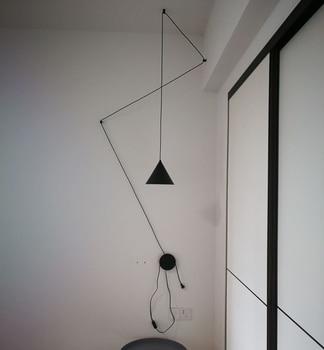 Nordic Modern Design LED DIY pendant lamp light cords metal Lampshade AC90-260v lighting fixtures bar bedroom new