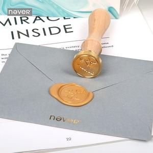 Image 3 - Nooit Lichtblauw Briefpapier Set Lakzegel Sets Kaart Enveloppen Veer Pennen Kit Gift Briefpapier Sets School En Kantoorbenodigdheden