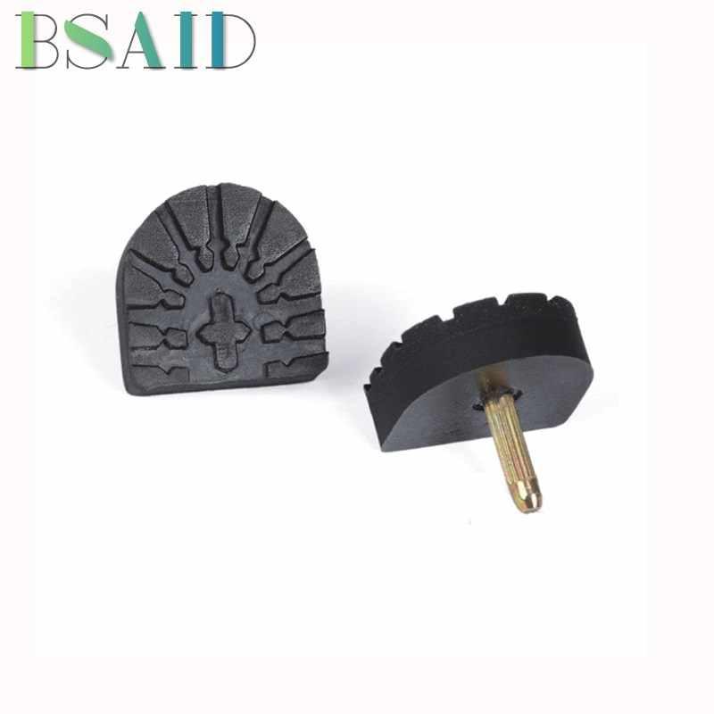 BSAID6 Formato Nero Spille di Alta Tacco Protezione Spine Stiletto Riparazione Punte di Ricambio Spilli Impianti di Risalita Grips Tallone Cura Delle Scarpe Per Le Donne pompe