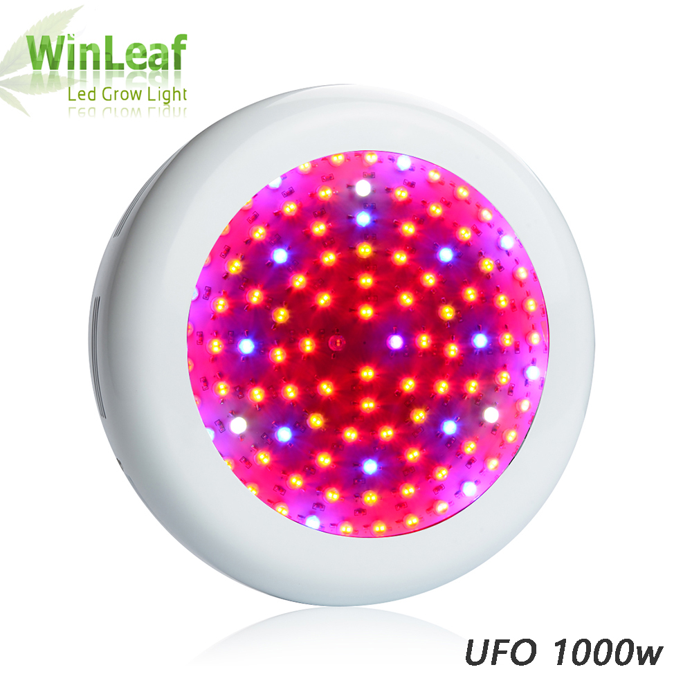 цена на UFO LED Grow Light Full Spectrum 600W 800W 900W 1000W for Indoor Plant Hydroponics Greenhouse Tent LED Grow Light