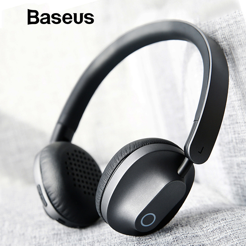 цена на Baseus D01 Wireless Bluetooth Headphone Stereo bluetooth earphone wireless headset Young attitude headphones with Mic for phone