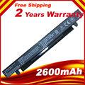 2600mAh Laptop Battery For Asus X550C X550A X550CA A41-X550 A41-X550A X550
