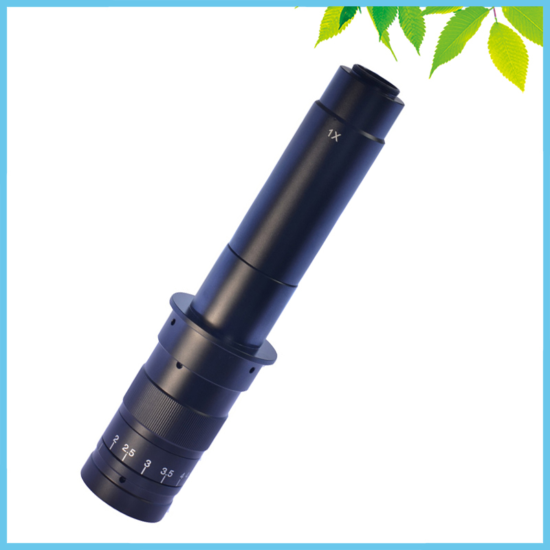 300X Professional Industrial Digital Microscope Lens Monocular 0.7X-4.5X Electronic Video Camera Lens  цены