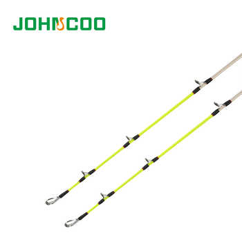 JOHNCOO NEW Lure Rod 4Sections Carbon Spinning Fishing Rod Travel Rod Max Power 15kg H/XH 2Tips 2.4m 2.7m 3.0m