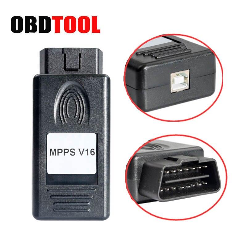 SIPM V16 ECU Chip Tuning pour EDC15 EDC16 EDC17 Inkl CHECKSUM lire et Écrire la Mémoire De Voiture ECU Chip Tuning Programme USB Câble JC5
