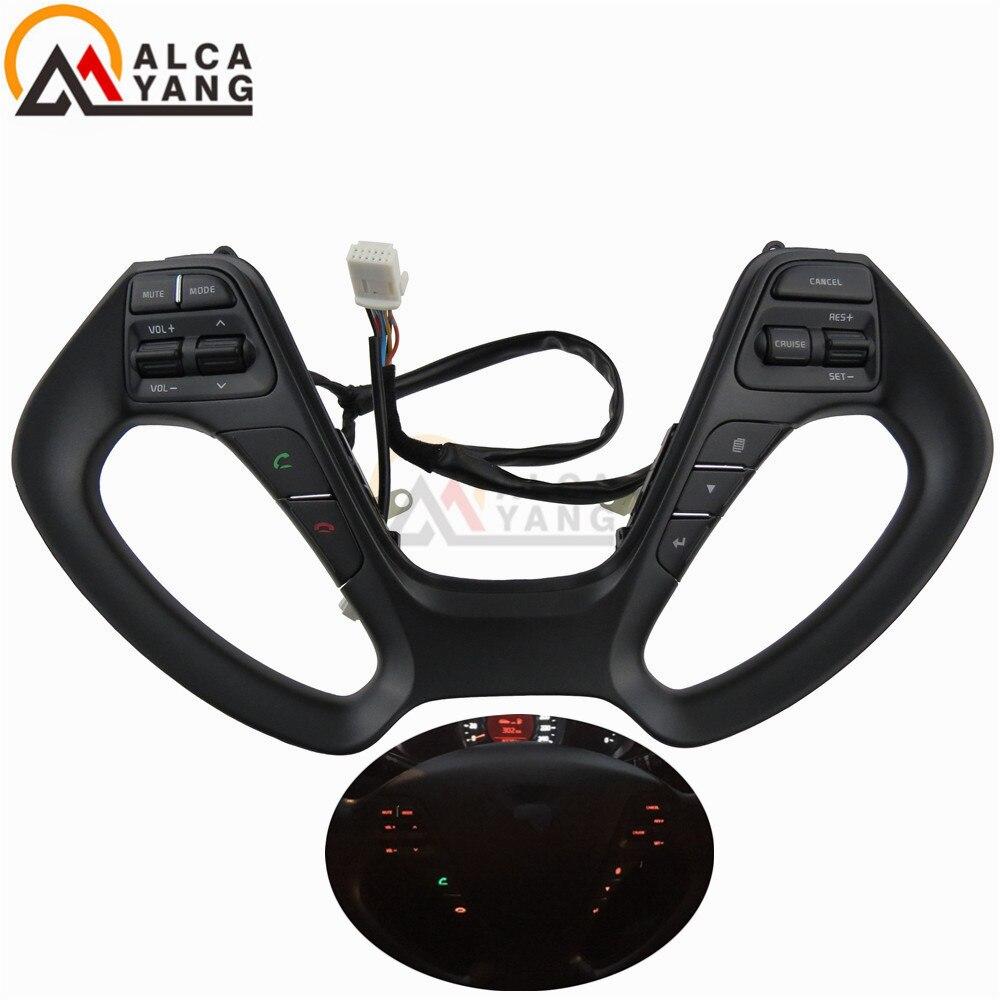 For KIA CERATO K3 2016 2017 Steering wheel audio volume music control button switch