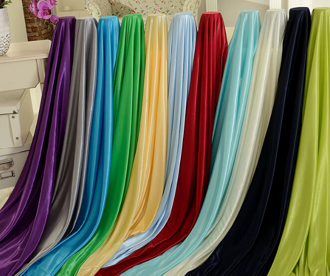 Good Quality Ice Silk Fabric Made Table Skirt And Other Wedding