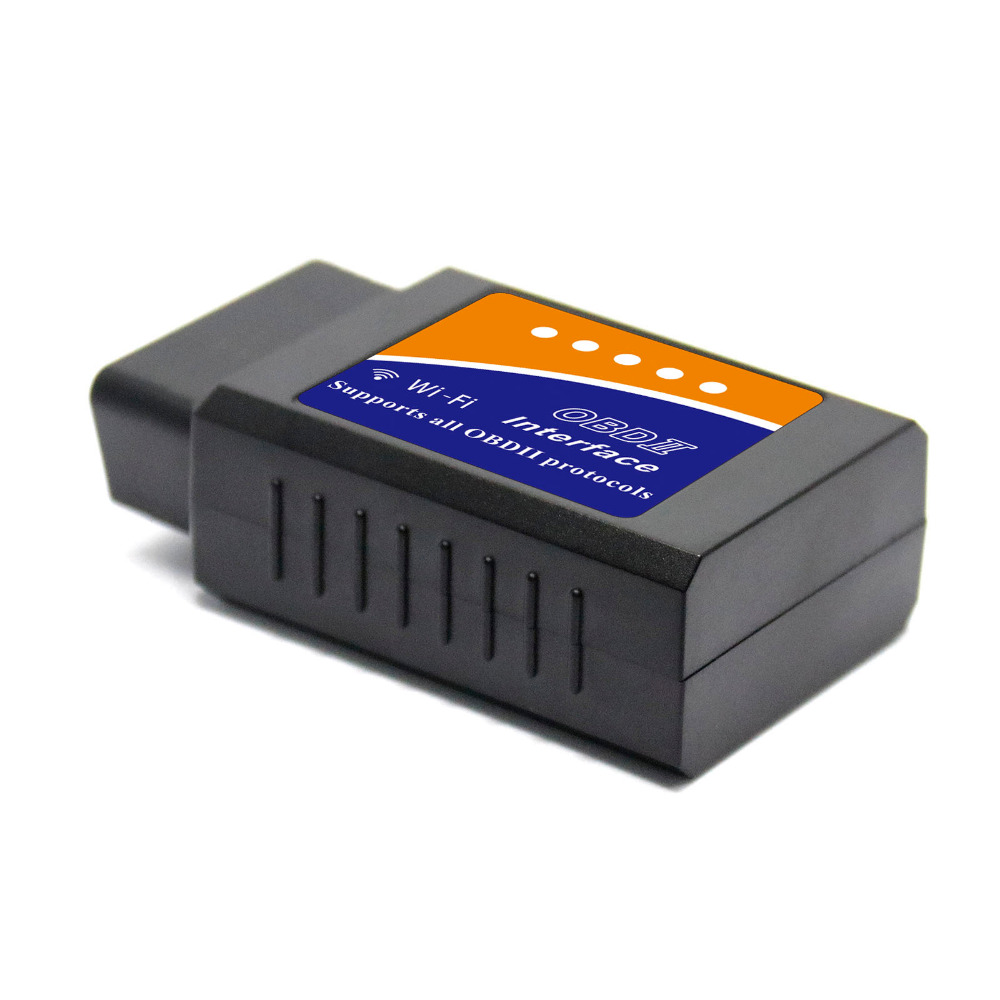 Image 2 - 20pcs/lot DHL ELM 327 V03HW V03HW 1 V1.5 WIFI PIC18F25K80 OBD2 OBDII Auto Code Reader WIFI Super Mini ELM327 For Android / IOS on