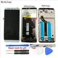 لشاومي Redmi 5 Plus شاشة تعمل باللمس الإصدار العالمي 5.99 بوصة Snapdragon 625 استبدال الهاتف المحمول لوحة اللمس LCD