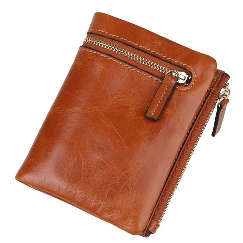 2017 Luxury Genuine Leather Wallet Brand Fashion Natural Cowhide Purse Men and Women Wallets Coin Purse Business Card Holder Bag famous brand cowhide leather knitting wallet women short wallets women coin card holder purse genuine leather purse