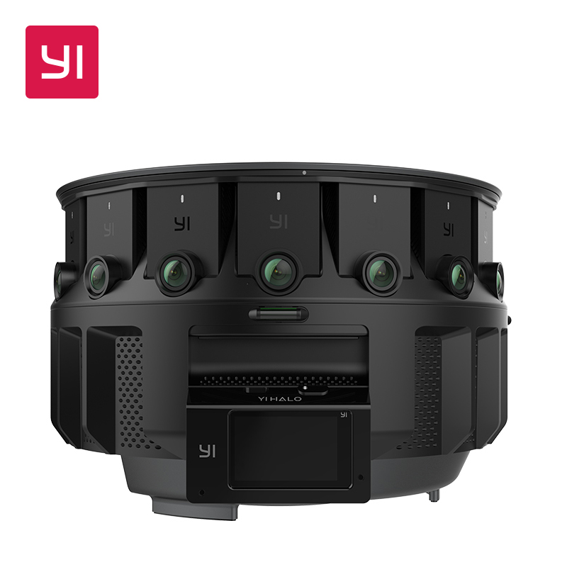 YI HALO VR Camera 3D-360 camera 5GHz Wi-Fi 2.2 Inch LCD Touch Screen 100 Minutes Battery Life Ambarella  Main Processor adapter