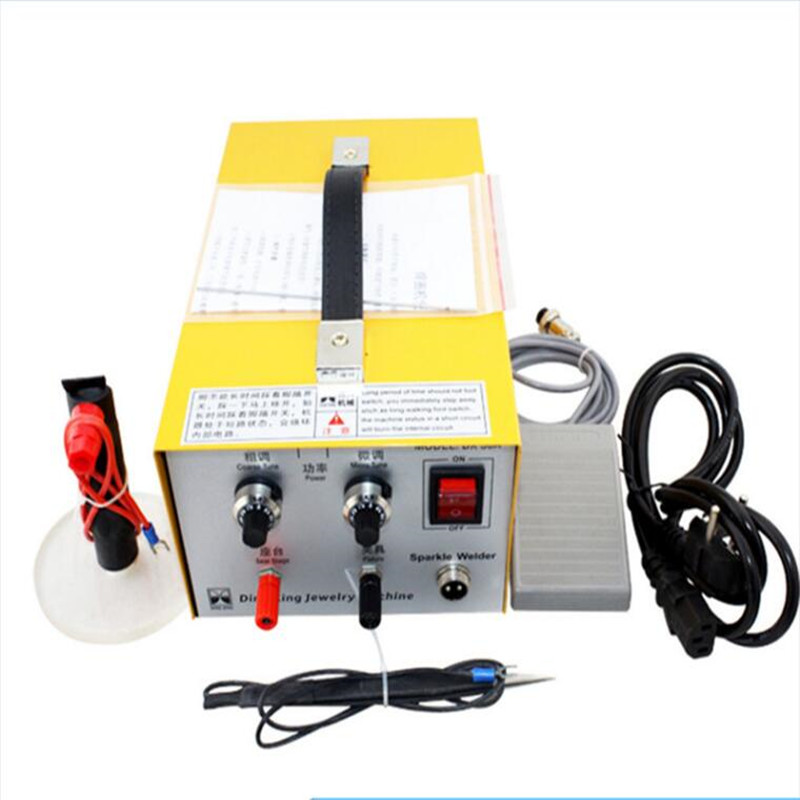 30A Spot Welding Hand Held Pulse Spot Welder Gold Welding Machine Silver Jewelry Processing Tools