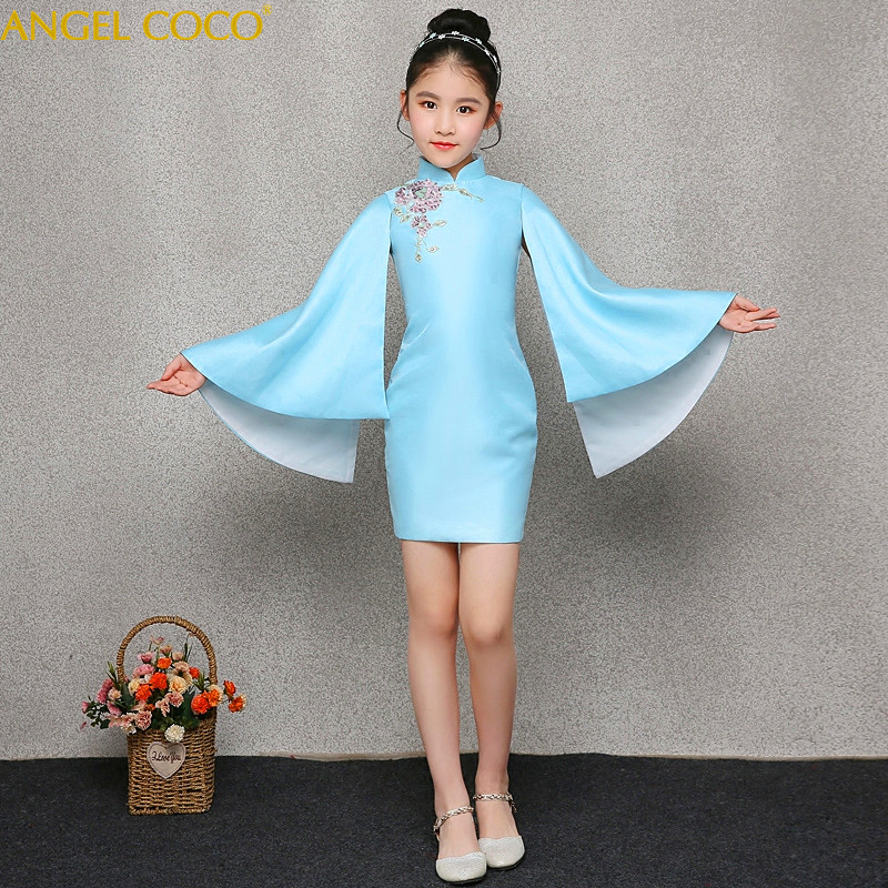 Girls Evening Dress Elegant Mermaid Fashion Mother S Evening Gown Chinese Style Retro Banquet Party Dress