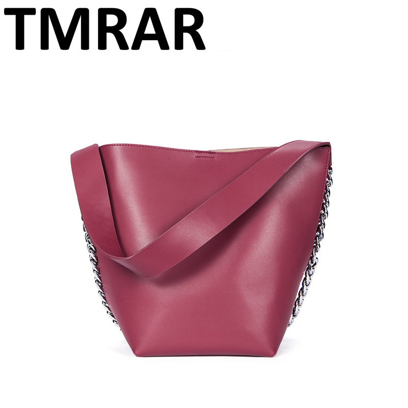2018 New classic bucket messenger bags popular tote lady split leather handbags women chains shoulder bags bolsas qn250 2018 new classic bucket messenger bags popular tote lady split leather handbags women chains shoulder bags bolsas qn250