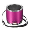 NOVO Mini Speaker Portátil de Música de ALTA FIDELIDADE de Rádio FM Amplificador de Som suporte USB Micro SD para TF Line in Cartão MP3 jogador